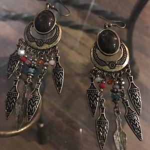 Bohemian Beauties - dangle earrings